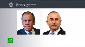 Лавров и Чавушоглу договорились содействовать переговорам по Нагорному Карабаху