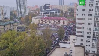 Силовики вМинске разогнали протестующих водометами