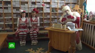 Мешки писем— дело привычное: что пишут взрослые впосланиях Деду Морозу
