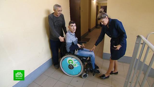 Петербургские инвалиды просят снять карантин в реабилитационных центрах.Санкт-Петербург, инвалиды, карантин, коронавирус, эпидемия.НТВ.Ru: новости, видео, программы телеканала НТВ