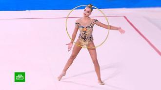 В Москве прошел первый с начала пандемии международный турнир по художественной гимнастике