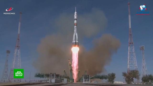 Ракета спилотируемым кораблем «Союз МС-17» стартовала сБайконура.МКС, космонавтика, космос, наука и открытия.НТВ.Ru: новости, видео, программы телеканала НТВ