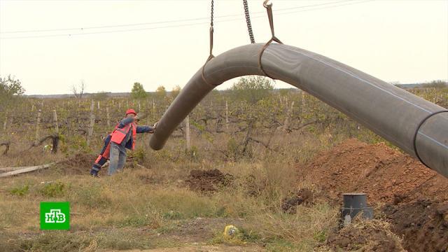 Воды осталось на 3месяца: вобезвоженном Крыму появится новая схема водоснабжения.Крым, Севастополь, засуха.НТВ.Ru: новости, видео, программы телеканала НТВ