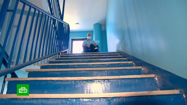 На Кубани десятки семей из-за капремонта полгода не могут пользоваться лифтами.ЖКХ, Краснодар, лифты, ремонт.НТВ.Ru: новости, видео, программы телеканала НТВ