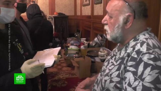 Дело об ограблении привело полицейских вдом цыганского барона.Санкт-Петербург, кражи и ограбления, криминал, оружие, полиция.НТВ.Ru: новости, видео, программы телеканала НТВ