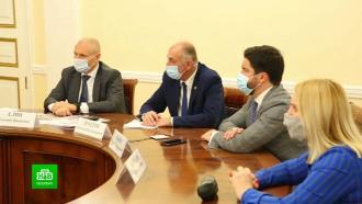 В Петербурге будут штрафовать предприятия, не соблюдающие санитарных мер против COVID-19