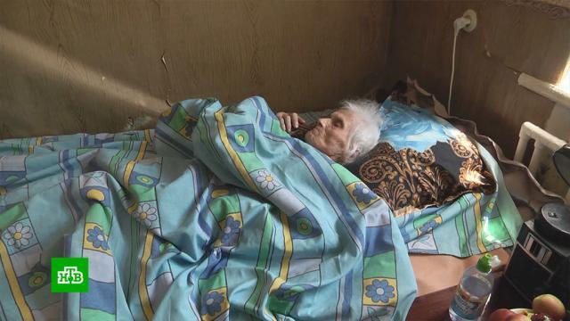 В Севастополе ветеран войны вынуждена бороться за 150 метров асфальта к дому.Севастополь, дороги, пенсионеры.НТВ.Ru: новости, видео, программы телеканала НТВ