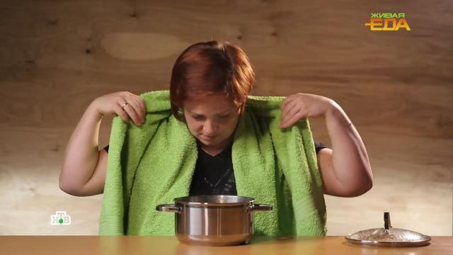 Ингаляция над картошкой: вред или польза.еда, здоровье, продукты.НТВ.Ru: новости, видео, программы телеканала НТВ
