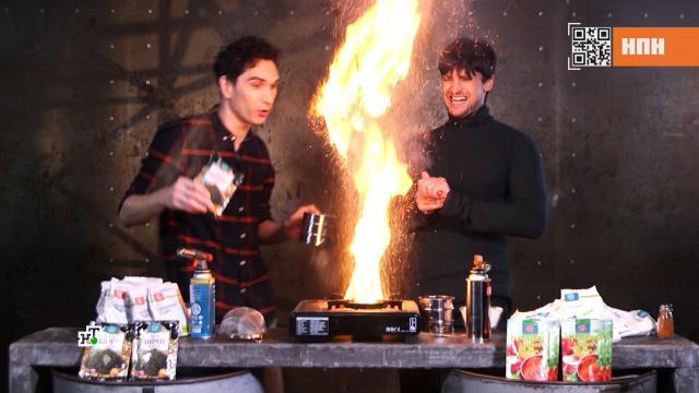 Какие продукты провоцируют пожары на кухне