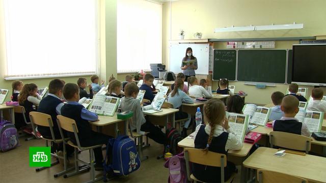 ВМоскве вшколы возвращаются учащиеся спервого по пятый классы.коронавирус, образование, школы, эпидемия.НТВ.Ru: новости, видео, программы телеканала НТВ