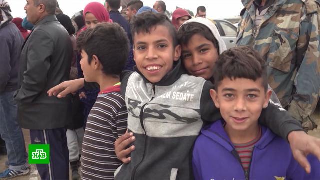 Возвращенные из Сирии дети начали новую жизнь на родине