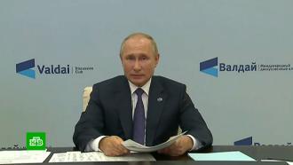 Путин: нет необходимости возвращать весенние <nobr>COVID-ограничения</nobr>