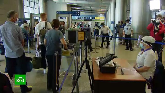 Зараженных коронавирусом будут выявлять по кашлю.аэропорты, коронавирус, эпидемия.НТВ.Ru: новости, видео, программы телеканала НТВ