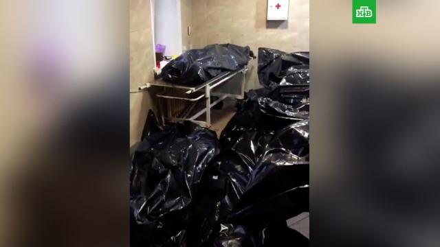 Морг в Новокузнецке оказался переполнен телами умерших от COVID.Кузбасс, болезни, коронавирус, эпидемия.НТВ.Ru: новости, видео, программы телеканала НТВ