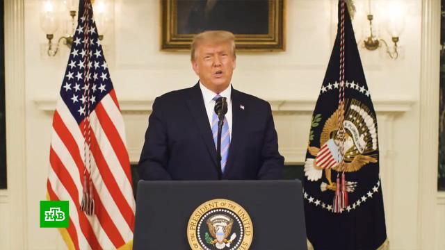 «Все только начинается»: что сказал Трамп вобращении кнации.США, Трамп Дональд, беспорядки, выборы, назначения и отставки.НТВ.Ru: новости, видео, программы телеканала НТВ