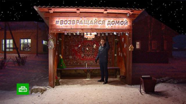 Жители архангельского села превратили автобусную остановку в<nobr>арт-объект</nobr>