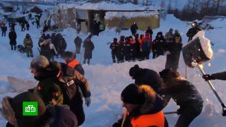 ВНорильске объявлен траур по погибшим под лавиной