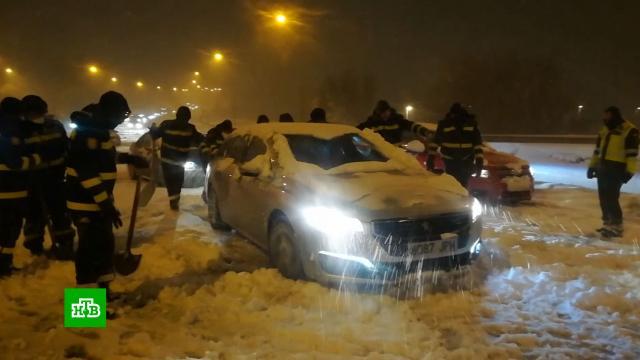 Число погибших из-за непогоды вИспании возросло до четырех.Европа, Испания, Мадрид, зима, погода, погодные аномалии, снег.НТВ.Ru: новости, видео, программы телеканала НТВ