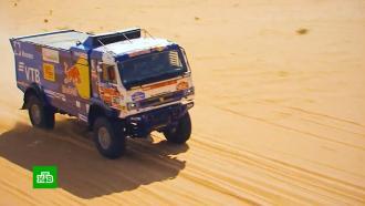 Экипажи «КамАЗ-мастер» заняли первые места на седьмом этапе ралли «Дакар» среди грузовиков