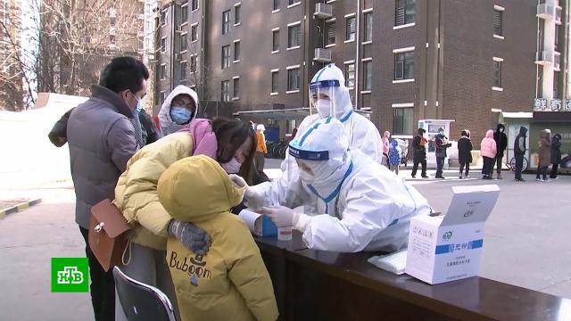 В Китае из-за COVID-19 опасные районы изолируют 3-метровыми щитами.Китай, коронавирус, эпидемия.НТВ.Ru: новости, видео, программы телеканала НТВ