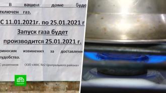 Петербуржцам в самые холода ради ремонта перекроют газ