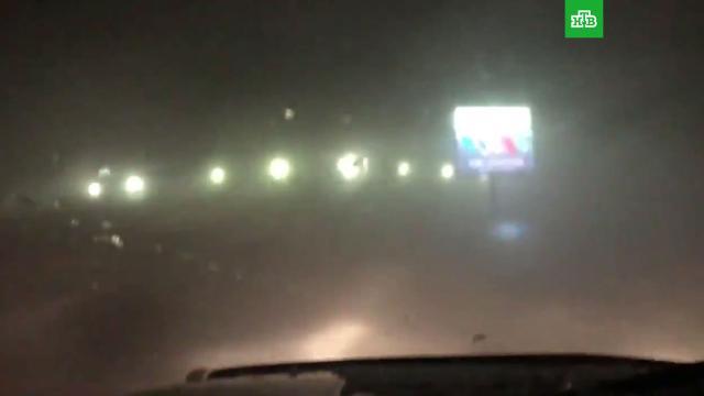 Снежный ураган вКанаде.Канада, зима, метель, погода, погодные аномалии, снег.НТВ.Ru: новости, видео, программы телеканала НТВ