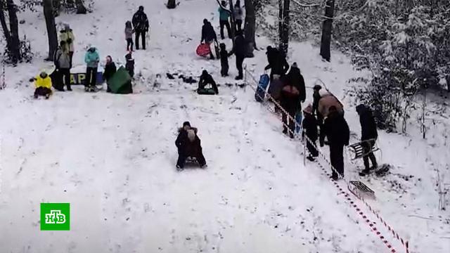 Снегопадам иморозам на юге России радуются дети ипродавцы лопат.погода, Ростовская область, погодные аномалии, морозы, прогноз погоды, зима, климат, Крым, Краснодарский край.НТВ.Ru: новости, видео, программы телеканала НТВ