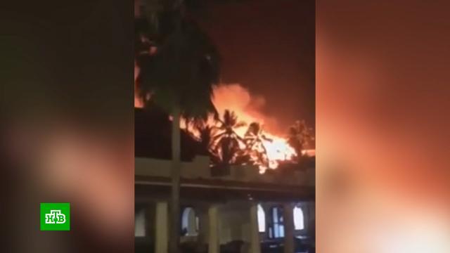 «Русские, просыпайтесь!»: туристы бежали из горящего отеля в шортах и шлепанцах.Африка, отели и гостиницы, пожары, туризм и путешествия.НТВ.Ru: новости, видео, программы телеканала НТВ