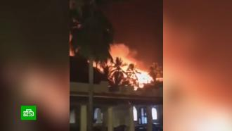 «Русские, просыпайтесь!»: туристы бежали из горящего отеля в шортах и шлепанцах.НТВ.Ru: новости, видео, программы телеканала НТВ