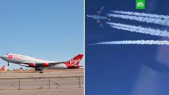Virgin Orbit запустила вкосмос ракету <nobr>из-под</nobr> крыла Boeing