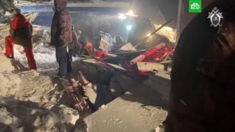 Спасатели завершили поисковую операцию на месте схода лавины на Домбае