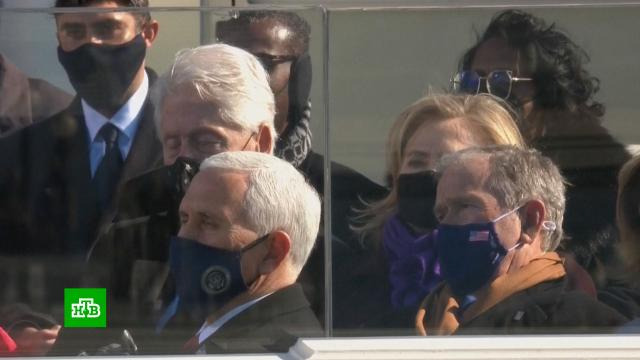Билл Клинтон задремал на инаугурации Джо Байдена.Байден, Клинтон Билл, США.НТВ.Ru: новости, видео, программы телеканала НТВ