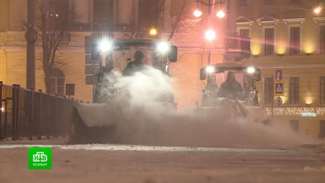 Циклон «Кристоф» принес в Петербург снегопад и резкое потепление.ЖКХ, Санкт-Петербург, зима, погода, снег.НТВ.Ru: новости, видео, программы телеканала НТВ