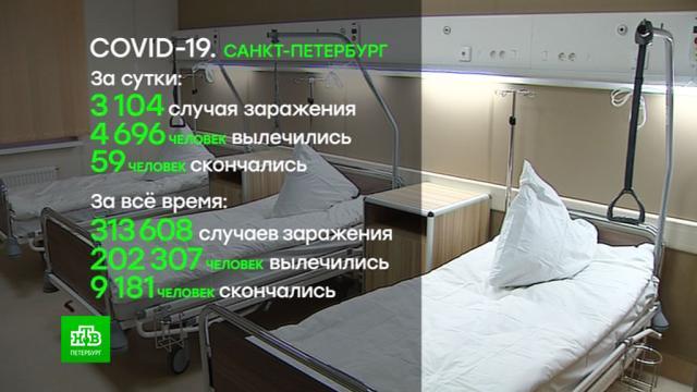 В Петербурге начало снижаться количество госпитализируемых с COVID-19.Санкт-Петербург, больницы, здравоохранение, коронавирус, медицина, прививки.НТВ.Ru: новости, видео, программы телеканала НТВ