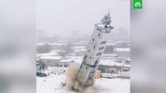 ВКирове взорвали <nobr>башню-достопримечательность</nobr>
