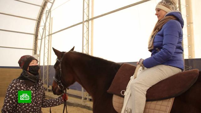 На Урале для реабилитации работающих в«красных» зонах медиков открыли курсы иппотерапии.болезни, животные, кони и конный спорт.НТВ.Ru: новости, видео, программы телеканала НТВ