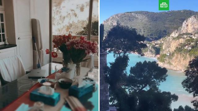 Боня показала квартиру вМонако ссобственным спуском кморю.НТВ.Ru: новости, видео, программы телеканала НТВ