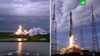 SpaceX установила рекорд по единовременному выводу спутников на орбиту