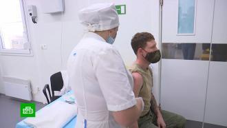 На авиабазе Хмеймим вСирии началась вакцинация личного состава