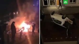 ВНидерландах протесты вновь переросли впогромы