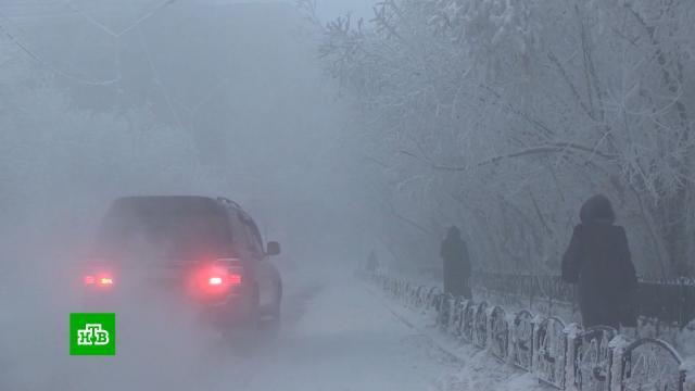 На Дальнем Востоке и в Сибири зафиксировали рекордные морозы