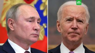 Путин и Байден договорились о продлении СНВ-3.Президент Владимир Путин и американский лидер Джо Байден выступили за продление договора СНВ-3.Байден, Путин, США, переговоры.НТВ.Ru: новости, видео, программы телеканала НТВ