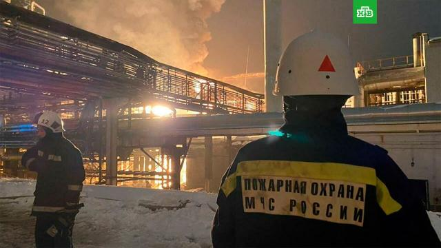 Пожар на заводе вУфе потушен
