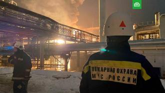 Пожар на заводе вУфе потушен.НТВ.Ru: новости, видео, программы телеканала НТВ