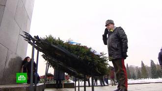 ВПетербурге почтили память жертв блокады