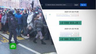Всего за неделю Навальный обогатился на 9 млн рублей