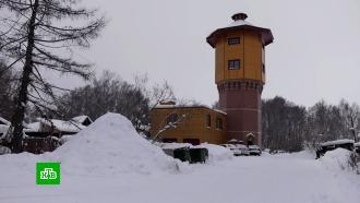 В Томске выясняют причину пожара в легендарной водонапорной башне.НТВ.Ru: новости, видео, программы телеканала НТВ