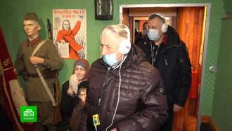 Эмоций очень много: губернатор Ленобласти побывал на экскурсии в «Поезде Победы»