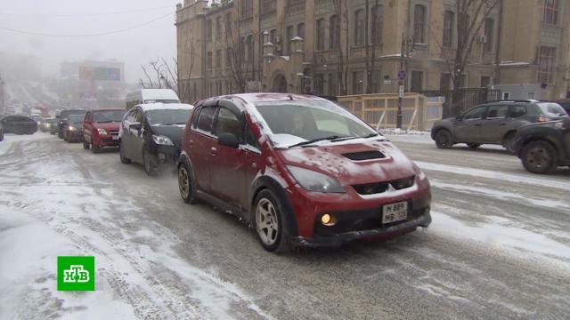Владивосток замер в ожидании удара мощного тайфуна.Владивосток, Приморье, погода, гололед, погодные аномалии, зима, штормы и ураганы, снег.НТВ.Ru: новости, видео, программы телеканала НТВ