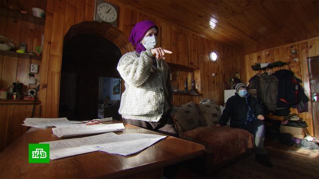 Сотни жителей сибирского села оказались вдолговой яме